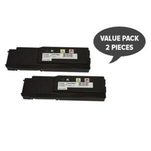 2 x 3760 Black Premium Generic Toner