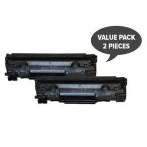 2 x CE278 HP #78A Cart326 Black Generic Toner