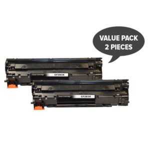 2 x CF283X Premium Generic Toner