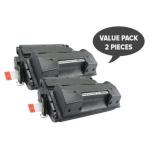 2 x Q5942X HP #42X 45A Premium Generic Toner