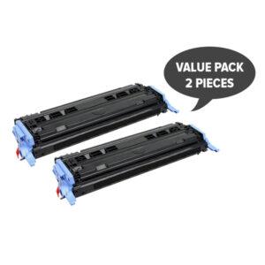2 x CART-307 Q6000A #124A Black Premium Generic Toner