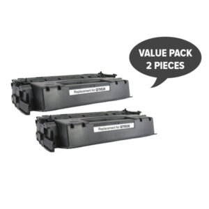 2 x Q7553X HP #53X CART315ii CART308ii Q5949X #49x Premium Generic Toner
