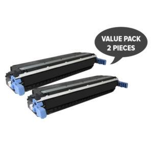 2 x C9730A 5500 5550 Black Premium Generic Toner
