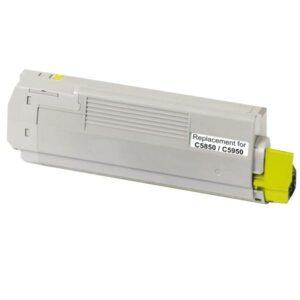 43865725 C5850 C5950 MC560 Yellow Premium Generic Toner