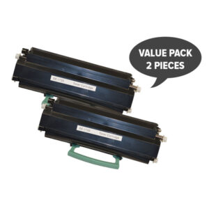 [5 Star] 592-10436 #1720 Black Premium Generic Toner Cartridge x 2