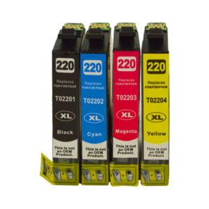 220XL Series Premium Compatible Inkjet Cartridge Set [Boxed Set]
