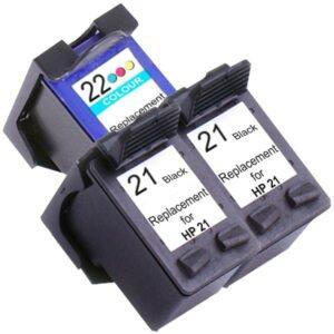 21XL Remanufactured Inkjet Cartridge Set #2  3 Ink Cartridges