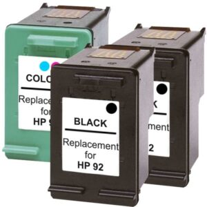#92 Compatible Inkjet Cartridge Set #2  3 Cartridges