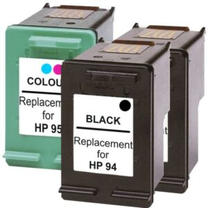 #94 Remanufactured Inkjet Cartridge Set #2  3 Cartridges