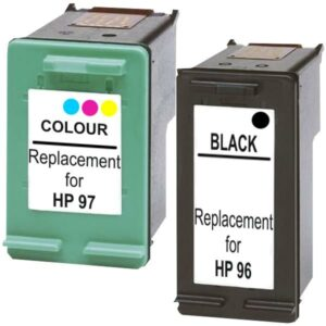 #96 Compatible Inkjet Cartridge Set #1  2 Cartridges