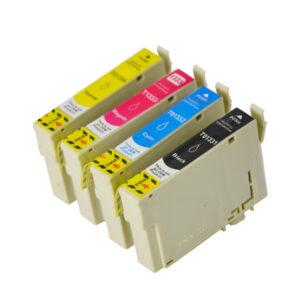 133 Compatible Pigment Series Inkjet Set 4 Cartridges [Boxed Set]