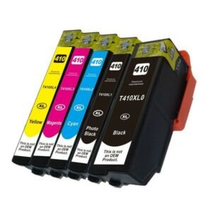 410XL Compatible Inkjet Set 5 Cartridges