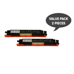 2 x CF350A #130 Premium Black Generic Toner