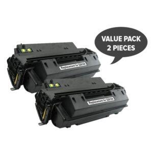 2 x Q2610A Black Generic Toner Cartridge
