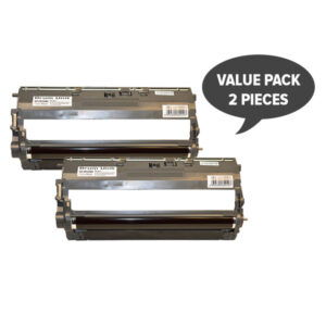 2 x DR-240 Black Premium Generic Drum Unit