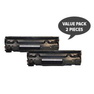 2 x CE285A #85A Cart325 Black Generic Toner