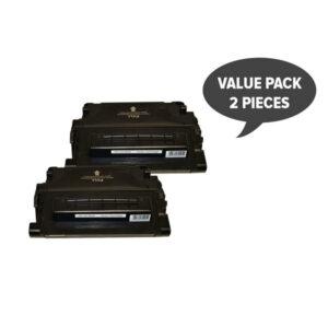 2 x CE390A #90A Premium Generic Cartridge