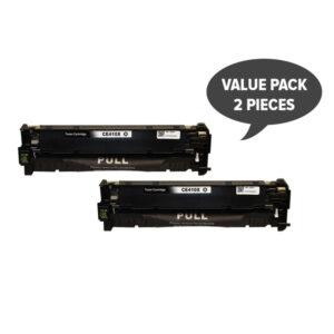 2 x CE410X #305X Premium Generic Black Toner