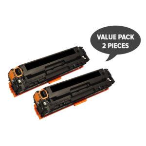 2 x CART-316BK CB540A #125A CART-416BK Black Premium Generic Toner