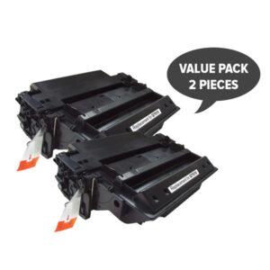 2 x Q7551X HP #51X Black Premium Generic Laser Toner