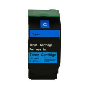 C544C C544XICG Premium Generic Cyan Toner