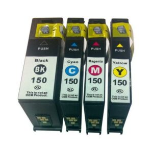 150XL Inkjet Compatible Set (4 Cartridges)