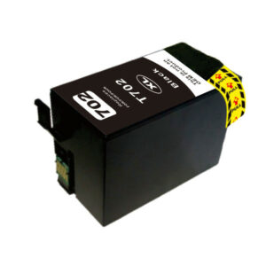 Black Compatible Inkjet Cartridge (Replacement for 702XL Black)