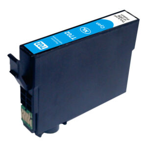 Cyan Compatible Inkjet Cartridge (Replacement for 702XL Cyan)