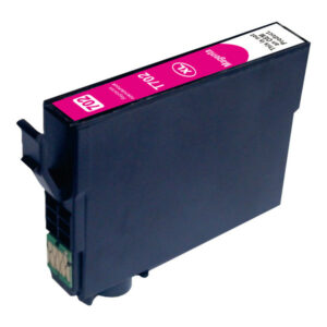 Magenta Compatible Inkjet Cartridge (Replacement for 702XL Magenta)