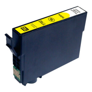 Yellow Compatible Inkjet Cartridge (Replacement for 702XL Yellow)