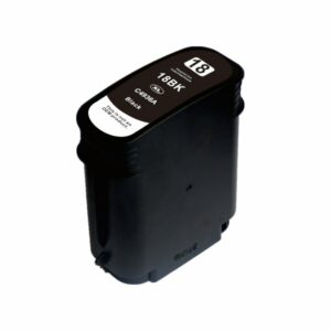18 #18 High Yield Black Compatible Inkjet Cartridge