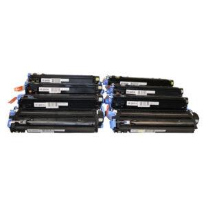 Q6000 Cart307 #124A Series Generic Toner Set X 2