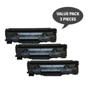 CE278 HP #78A Cart326 Black Generic Toner (Set of 3)