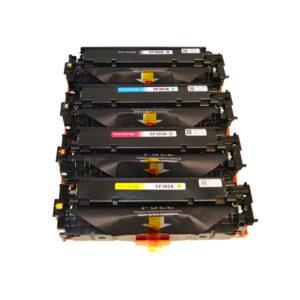CF380X #312X Series Premium Generic Remanufactured Laser Toner Cartridge Set (4 cartridges)