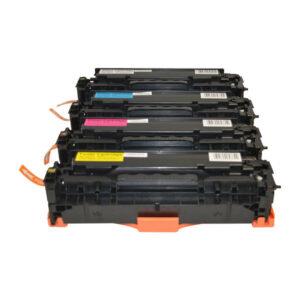 CE410X #305X Series Premium Generic Laser Toner Cartridge Set (4 cartridges)