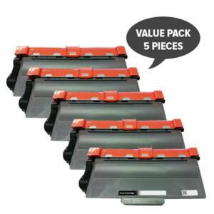 TN-3340 Premium Generic Laser Cartridge (Set of 5)