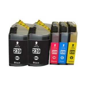 LC-239 Series Premium Compatible Inkjet Cartridge PLUS Extra Black