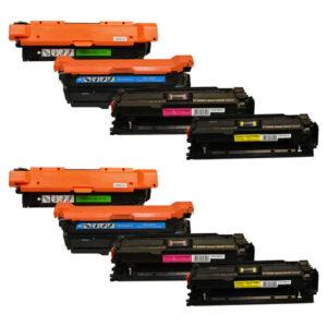 CE250X #504 Series Premium Generic Toner Set X 2
