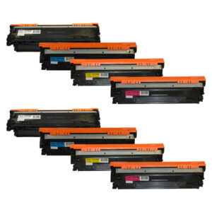 CE270B #650A Series Cart 322 Premium Generic Toner Set x 2