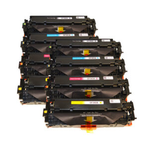 CF380X #312X Series Premium Generic Remanufactured Laser Toner Cartridge Set x 2 (8 cartridges)