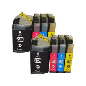 LC-239 Series Premium Compatible Inkjet Cartridge x 2