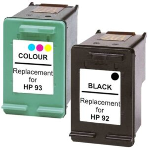 #92 Remanufactured Inkjet Cartridge Set #1  2 Cartridges